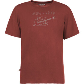 E9 Guitar T-Shirt Men wine